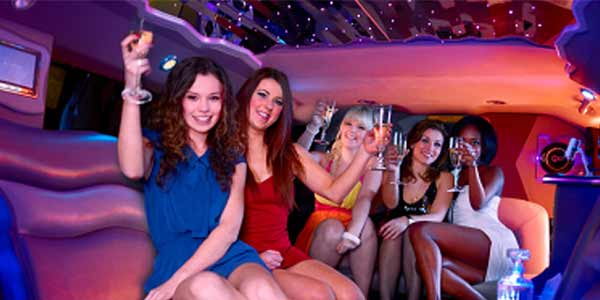 Partying In Limo Cars Somewhere In Lesburg