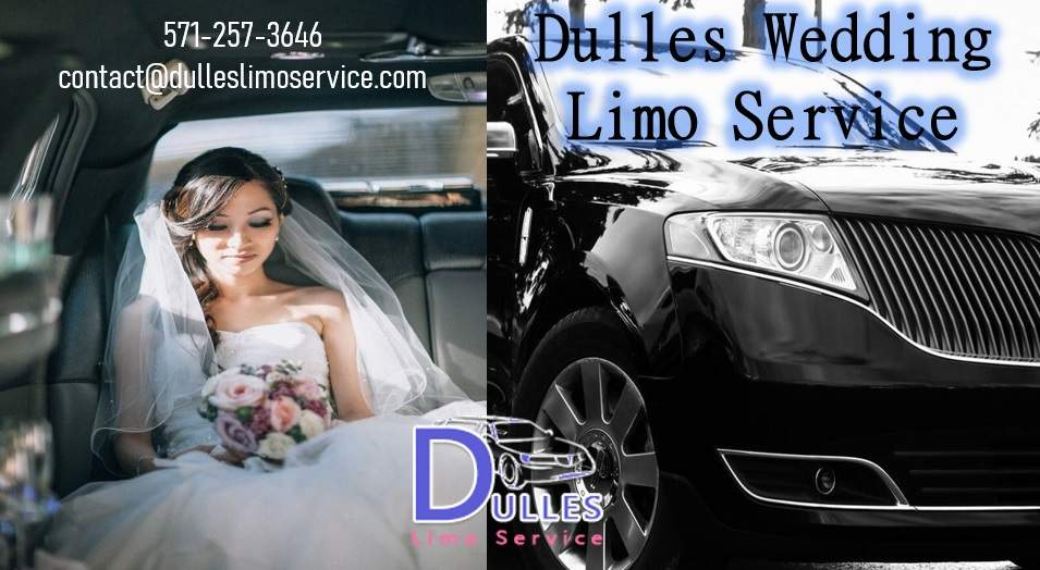 Dulles Wedding Limo