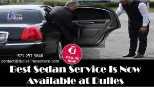 Dulles Airport Sedan Service