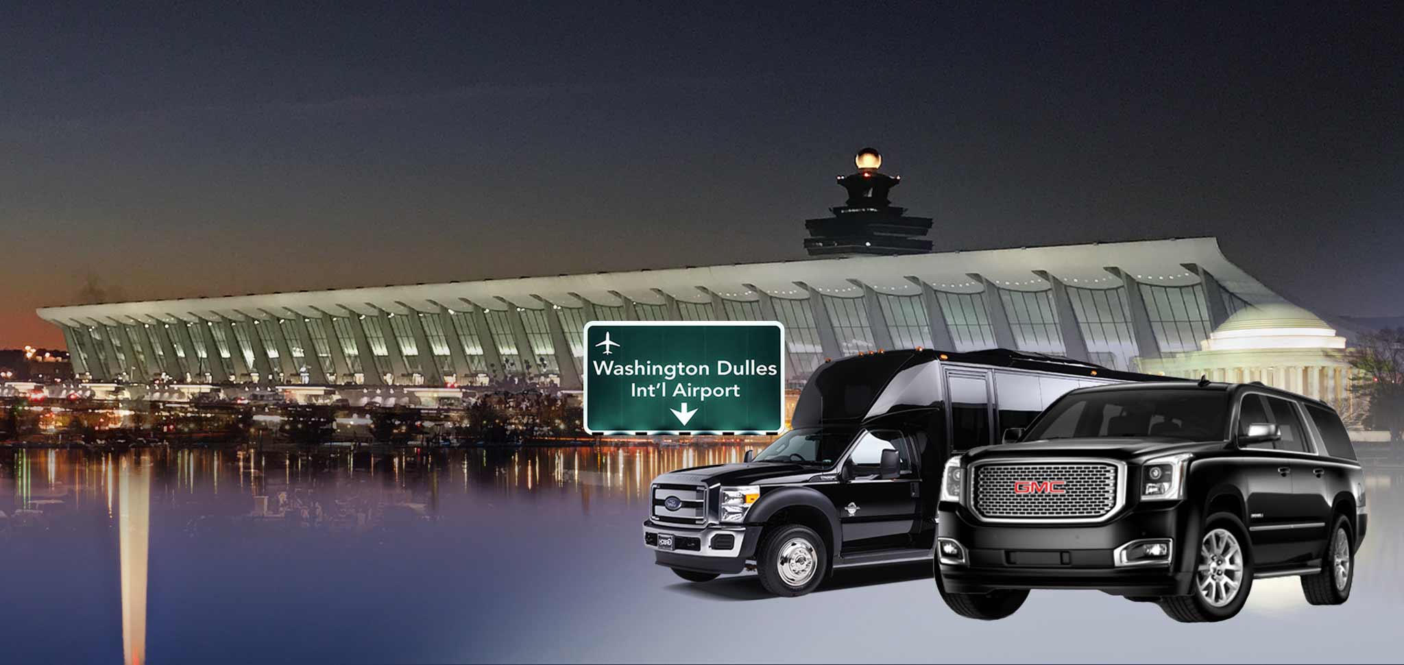 Limo Services to Dulles